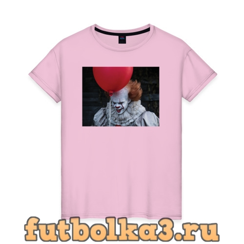 Футболка Pennywise with a Red Ball женская