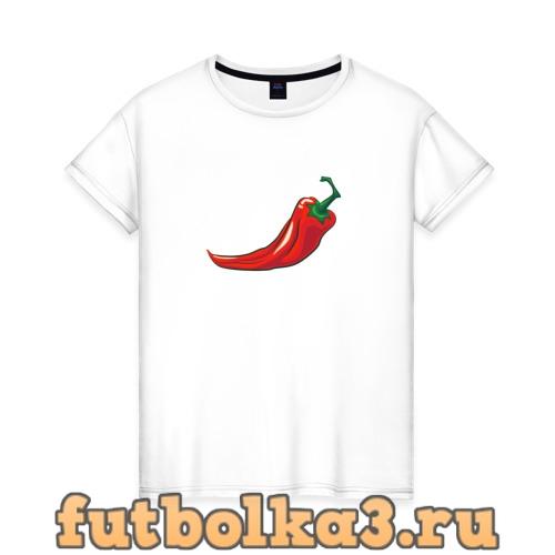 Футболка Перец Чили женская