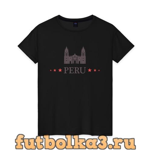 Футболка Перу женская