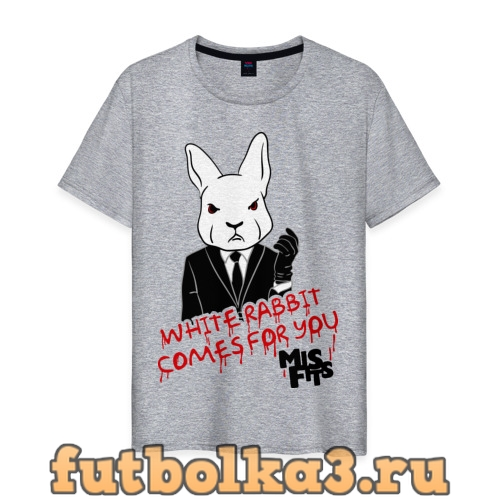 Футболка Rabbit misfits мужская