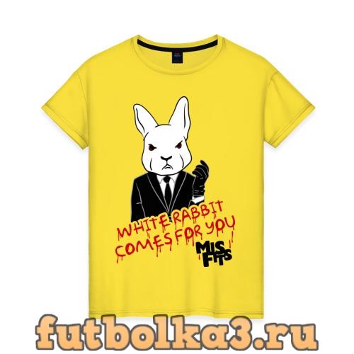 Футболка Rabbit misfits женская