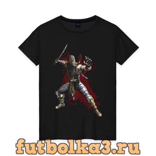 Футболка Scorpion женская