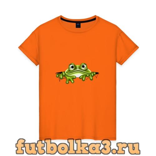 Футболка Жаба женская