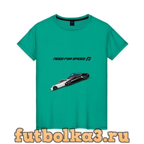 Футболка Жажда скорости женская