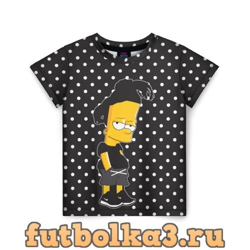 Футболка Барт с дредами детская