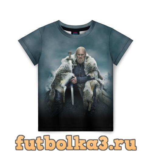Футболка Бьёрн Железнобокий детская
