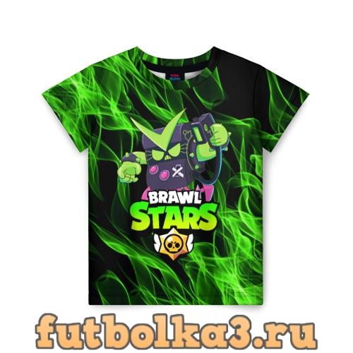Футболка BRAWL STARS VIRUS 8-BIT детская