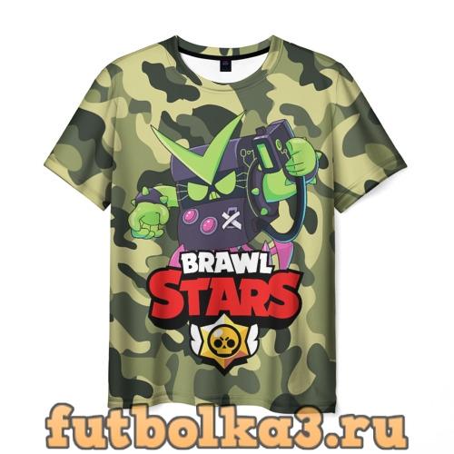 Футболка BRAWL STARS VIRUS 8-BIT мужская