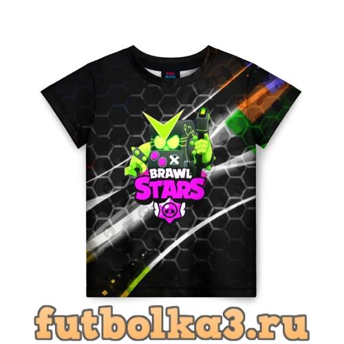 Футболка BRAWL STARS:8 BIT VIRUS детская