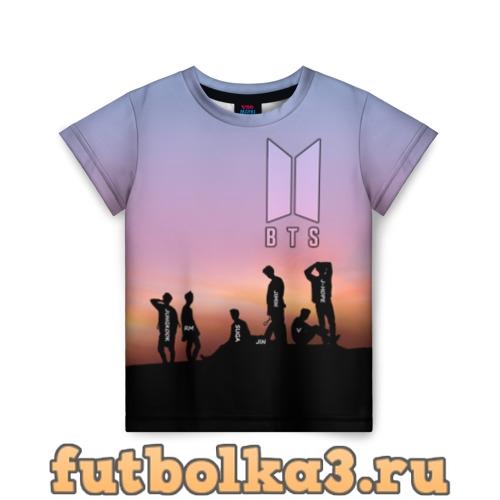 Футболка BTS on the Sunset детская