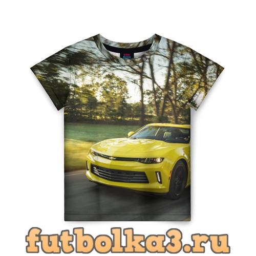 Футболка Chevrolet Camaro детская