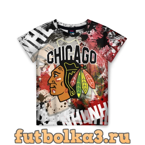 Футболка Chicago Blackhawks детская