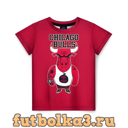Футболка Chicago bulls детская