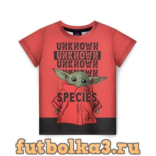 Футболка Child Yoda детская
