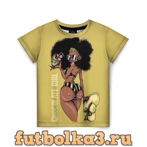 Футболка Chocolate girl детская