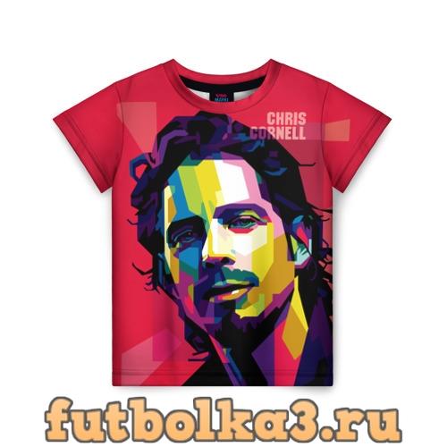 Футболка Chris Cornell детская