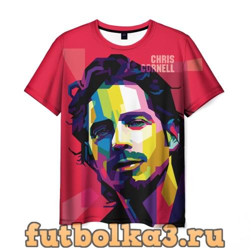 Футболка Chris Cornell мужская