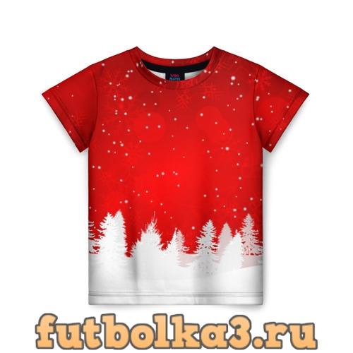 Футболка Christmas детская
