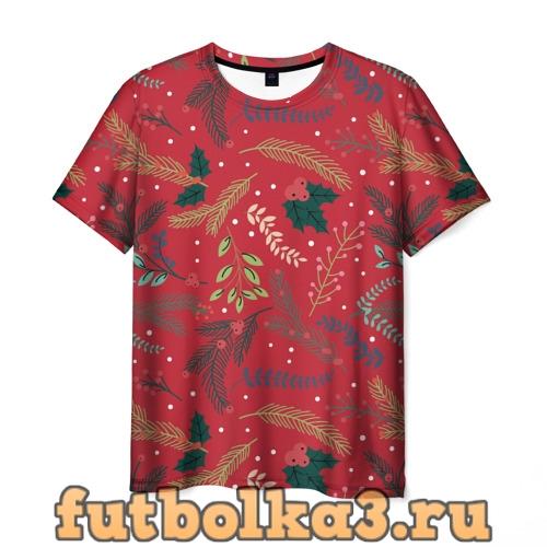 Футболка Christmas мужская
