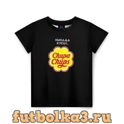 Футболка chupa chups детская
