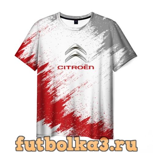 Футболка Citroen муж�ка�