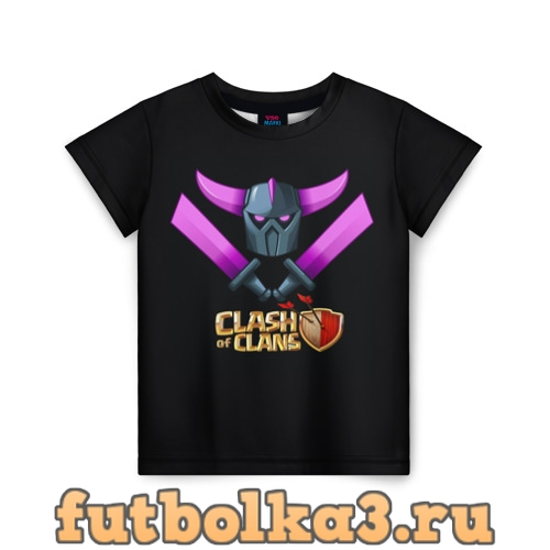 Футболка Clash of Clans детская