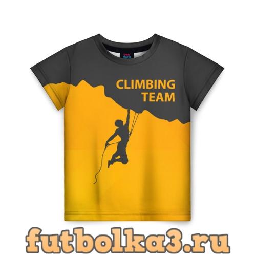 Футболка climbing детская