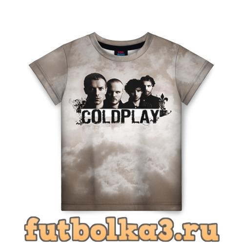 Футболка Coldplay детская
