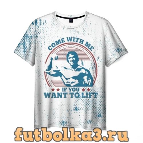 Футболка Come with me мужская