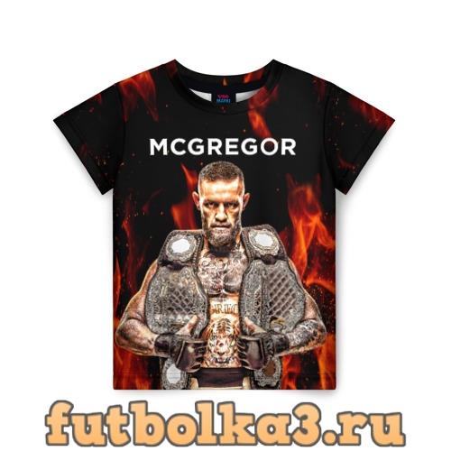 Футболка CONOR McGREGOR детская