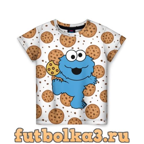Футболка Cookie monster детская