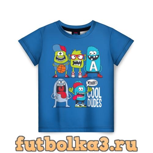 Футболка Cool dudes детская