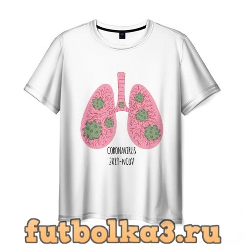 Футболка Coronavirus мужская