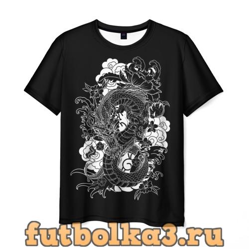 Футболка Дракон мужская