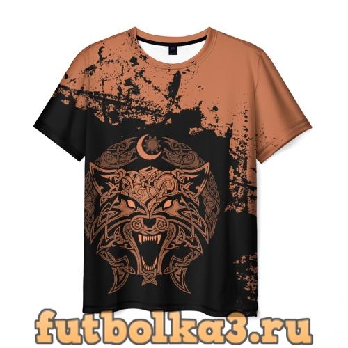 Футболка Фенрир мужская