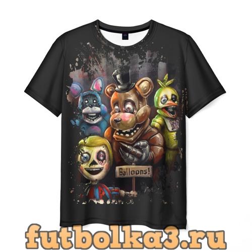 Футболка Five Nights at Freddy мужская