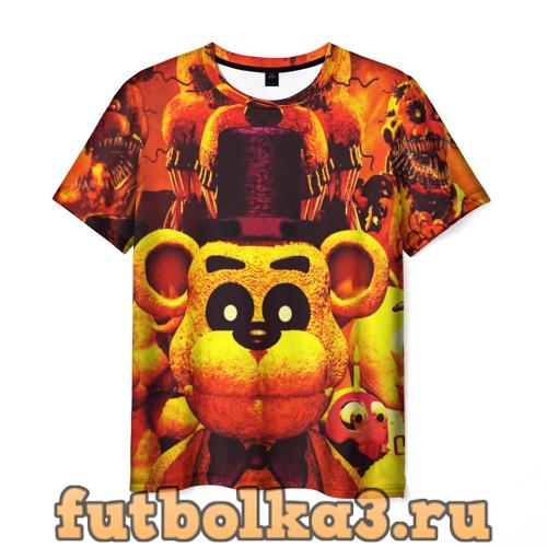 Футболка Five Nights at Freddy's  мужская