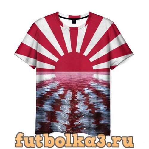 Футболка Флаг Восходящего Солнца мужская