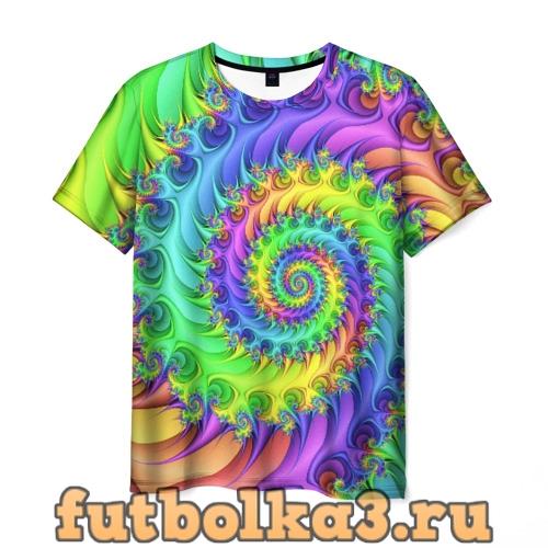 Футболка ФРАКТАЛЬНЫЙ АБСТРАКТ мужская