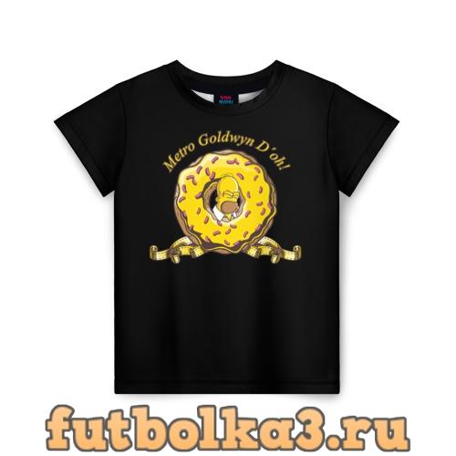 Футболка Гомер детская