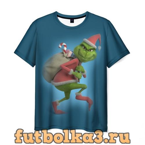 Футболка Гринч мужская