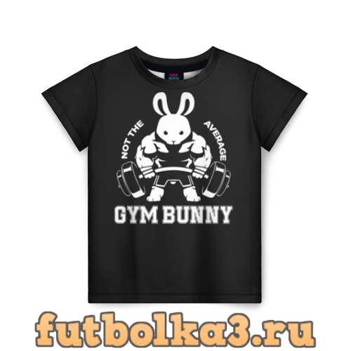 Футболка GYM BUNNY детская