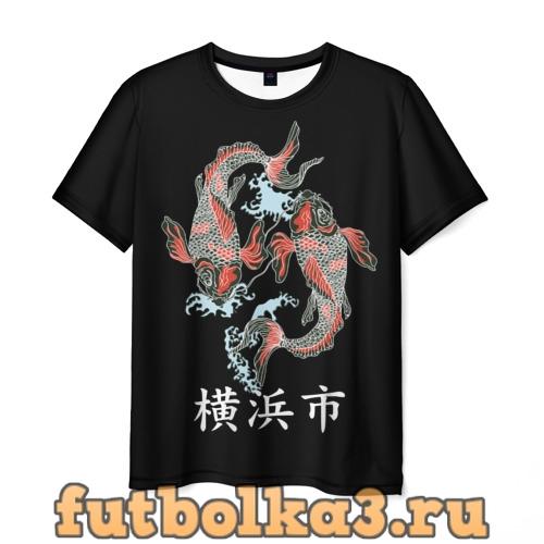 Футболка Иокогама мужская