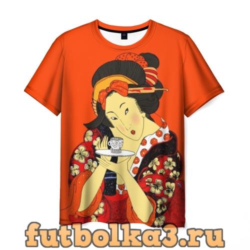 Футболка Японка мужская