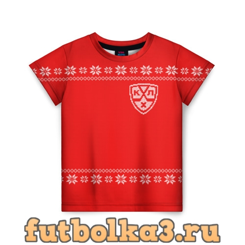 Футболка КХЛ детская