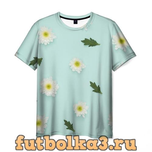 Футболка Корейская Хризантема Элен мужская