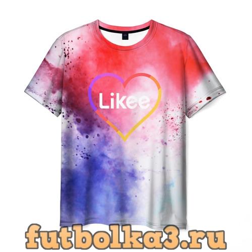 Футболка Likee мужская