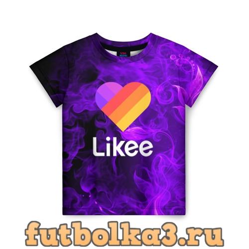 Футболка LIKEE детская