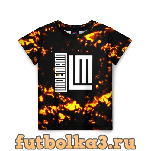 Футболка Lindemann детская