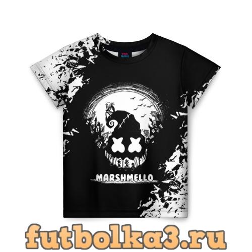 Футболка Marshmello Кошмар(Oko) детская